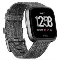 Fitbit Versa Special Edition Charcoal Woven - Smartwatch