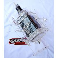 Botol Oli Samping RX King JD Kotak Variasi Akrilik Tebal Mulus Bening