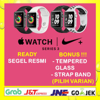 Apple Watch Series 3 Nike 38mm Gray Grey Black/Silver White Sport Band
