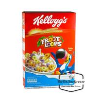 Kelloggs Fruit Loops Cereal - Sereal Rasa Buah Aneka Warna 160gr