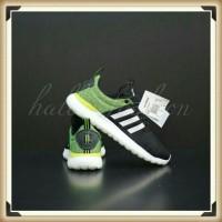 Sepatu Adidas Lite Racer CF Black Green Stabilo Original BNIB DB0591