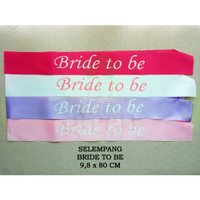 SELEMPANG PARTY MOM TO BE BRIDE TO BE/BRIDAL SHOWER/ BABY SHOWER AH196