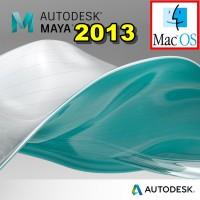 Autodesk Maya 2013 MAC OS X Full Versi DVD Software