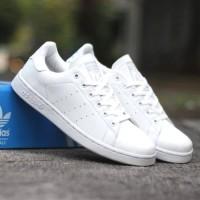 Sepatu Casual Adidas Stan Smith White Unisex