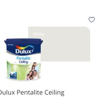 Dulux Pentalite Ceiling 25Kg/Cat khusus gypsum