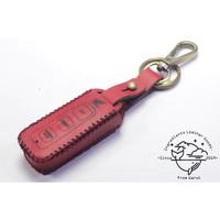 Case Remot smart key Motor Honda Vario 125 model tombol tertutup|merah - Merah