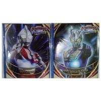 Album Kartu Trading Ultraman Sedang 96 Lembar