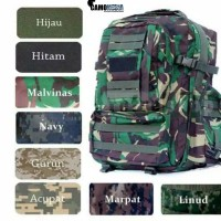 Tas Army Big Size/Ransel tentara besar/Backpack Army big size Camo