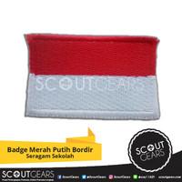 Badge Bet Merah Putih Bordir