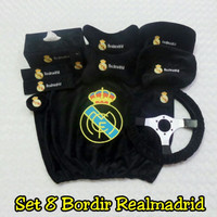 Bantal mobil set 8 ReaL Madrid
