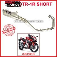 Original Proliner TR 1R Short CBR250RR Knalpot Racing CBR 250 RR 250RR