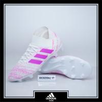 Sepatu Bola Adidas Nemeziz 18.3 FG White Pink Original BB9436