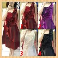 baju anak 14-22thn perempuan remaja dress gaun pesta natal maxi purple