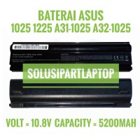 BATERAI ASUS 1025 1025C 1225 A31-1025 A32-1025 HIGH HITAM