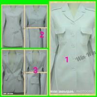 baju blazer seragam pemda pns pdh guru putih