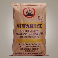 double acting baking powder suparize/ pengembang kue 250gr repack