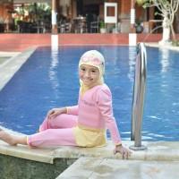 Baju Renang Mengapung Anak FloSwim GoSwim Model Muslimah