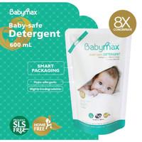Babymax Detergent Refill 600ml Sabun Cuci Baby Max Kemasan