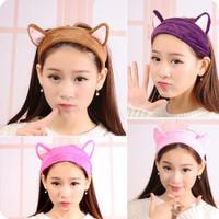 Headband Kuping Kucing/Bandana Kucing/Bandana Masker Bando Kucing K216