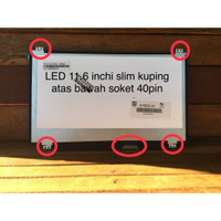Layar LED LCD Laptop ACER Aspire ONE 722 725 756 Series 1164AB