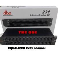 EQUALIZER DBX 231 (2x31 channel)
