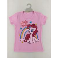 Baju Anak Kekinian Little Ponny Rainbow BABAMU