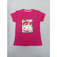 Baju Anak Perempuan KISS LOVE BABAMU
