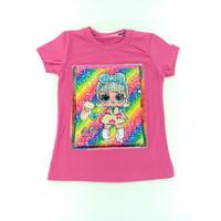 Baju Anak Perempuan LOL Rainbow BABAMU