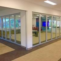 pintu sliding glass / movable partisi / pintu lipat /penyekat ruangan