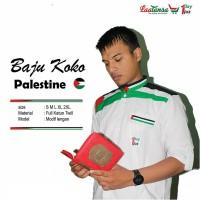 Baju Koko Muslim Palestina - Kemko - Baju Koko Palestine - Terbaru Mur