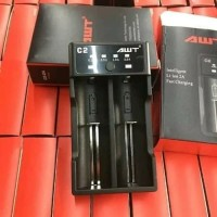 AWT C2 Charger Vape Autentic utentic Dual Slot Fast Charging 2A