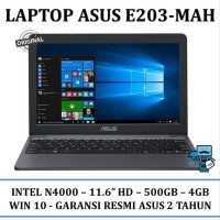 Unix Laptop Notebook Asus VivoBook E203-MAH - 4GB 11.6&