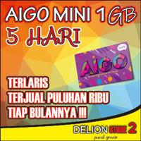 Voucher Axis Aigo 1GB 5hari . AIGO MINI 1GB