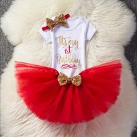 Baby Dress Tutu First Birthday Party
