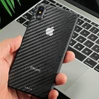 IPHONE X - XS Sticker Carbon Skin Anti Gores Belakang Iphone X XS