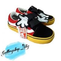 Sepatu Vans Mickey Disney Rafatar Anak Perempuan Laki-laki Lucu Tk Sd