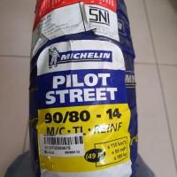 ban tubeless Michelin 90/80 14