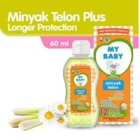 My Baby Minyak Telon Plus Longer Protection 12 Jam 60ml