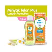 My Baby Minyak Telon Plus Longer Protection 12 Jam 90ml