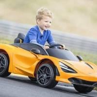 Mobil aki anak McLaren 720s ban karet licensed