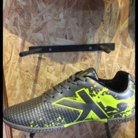 Paling Murah Sepatu Futsal Kelme Original Star Evo Silver Lime New