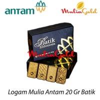 stock penghabisan Logam Mulia Antam 20Gr Edisi Batik Indonesia