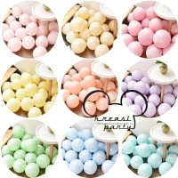 Balon Latex Pastel 10 inch Per Pack Isi 100 Pcs