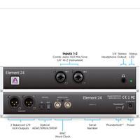 Apogee Element 24 - 10x12 Thunderbolt Audio Interface dk