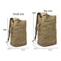 Tas Ransel Travel Kanvas - Duffel Bag