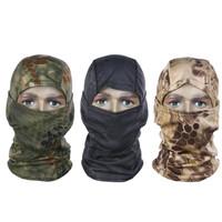 masker full face military airsoft balaclava motor rattlesnake import - COKLAT LORENG