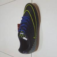 ORI sepatu futsal ogardo cavani warna hitam biru 100%