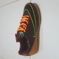 ORI sepatu futsal ogardo cavani warna hitam oren 100%