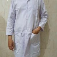 Baju laboratorium / Jas lab / lengan panjang