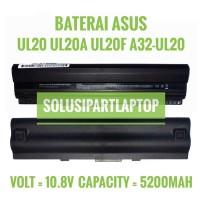 BATERAI ASUS EEPC 1201 1201H UL20 UL20A UL20F A32-UL20 BLACK